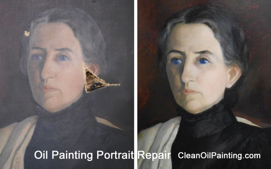 Oil Painting Restoration Repair